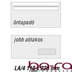 BORÍTÉK LA/4 GPV SZILIKON JOBB ABLAK 35X90 J20A20