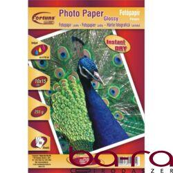 FOTÓ PAPÍR FORTUNA 10x15 255GR INKJET FÉNYES (100x148,5MM)