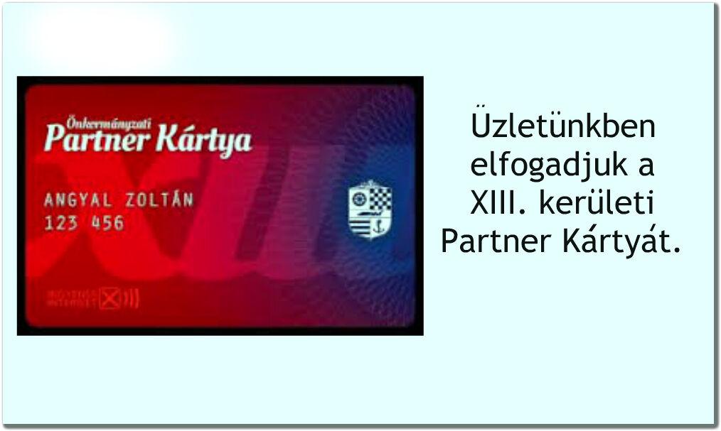 Partner Kártya XIII.