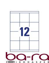Etikett AVERY 3661 70x67,7 mm fehér univerzális 1200 címke/doboz 100 ív/doboz