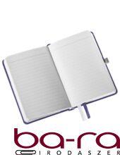 Jegyzetfüzet LEITZ Style A/6 80 lapos vonalas titánkék