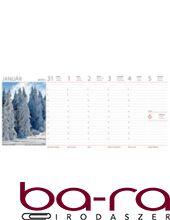 Asztali naptár képes Dayliner álló fehér lapos Természet Világa 2019.