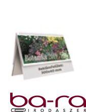 Asztali naptár képes Toptimer T063 álló fehér lapos Botanika 2019.