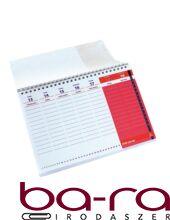 Asztali naptár tanévhez igazodó REALSYSTEM álló 2019-2020