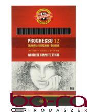 Grafitceruza KOH-I-NOOR 8911 Progresso HB hengeres