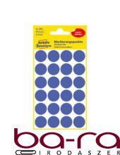 Etikett AVERY 3596 öntapadó jelölőpont indigókék 18mm 96 jelölőpont/csomag