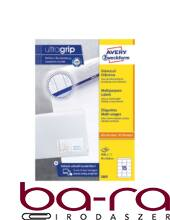 Etikett AVERY 3669 70x50,8 mm fehér univerzális 1500 címke/doboz 100 ív/doboz
