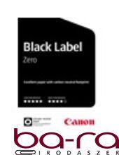 FÉNYMÁSOLÓPAPÍR CANON BLACK LABEL ZERO A/4 80GR