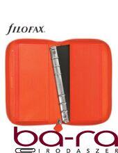 FILOFAX SAFFIANO PERSONAL COMPACT ZIP NARANCS
