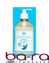 Folyékony szappan pumpás WELL DONE REWELL Fresh Water antibakteriális 400 ml