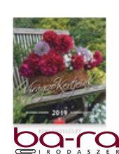 Falinaptár CSG 300x340mm álló Virágzó kertjeink 2019.