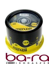ÍRHATÓ CD MAXELL 700MB 50DB/HENGER