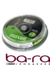 ÍRHATÓ DVD+R MAXELL 4,7GB 10DB/HENGER