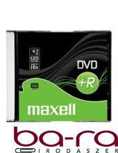 ÍRHATÓ DVD+R MAXELL 4,7GB SLIM TOK