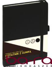 Jegyzetfüzet GRAND A/5 80 lapos puha fekete kockás