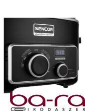 Multifunkciós lassú főző SENCOR SPR 6100BK 600W 5,5 liter 3 fokozatú fekete