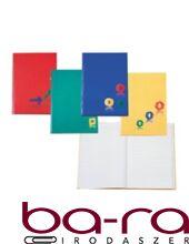 Regiszteres füzet EDUCA A/4 keményfedeles 192 lapos