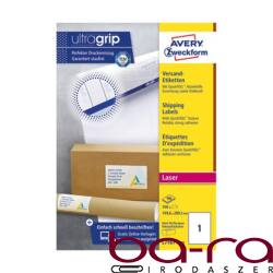 Etikett AVERY L7167-100 199,6x289,1 mm fehér univerzális 100 ív/doboz