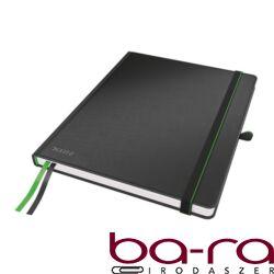 Jegyzetfüzet LEITZ Complete ipad 80 lapos kockás fekete