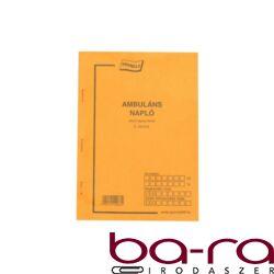 AMBULÁNS NAPLÓ A/5 50X2