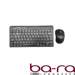 Billentyűzet + egér vezeték nélküli RAPOO 8000S 2,4 GHz fekete