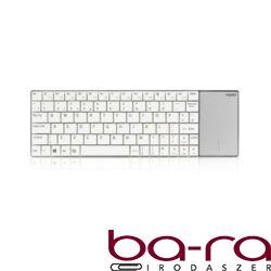 Billentyűzet vezeték nélküli RAPOO E2710 touchpad fehér