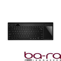 Billentyűzet vezeték nélküli RAPOO K2800 touchpad fekete