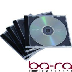 CD-tok Fellowes normál, fekete, 2 lemez