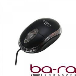 Egér optikai SILVERLINE OM-290 USB fekete