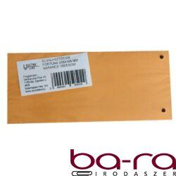 Elválasztócsík FORTUNA 105x235mm narancs 100 db/csomag