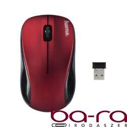 Egér vezeték nélküli HAMA AM-8100 2,4 GHz 1200 DPI piros