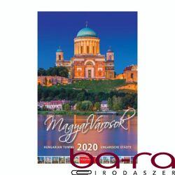 Falinaptár CSG 210x320mm álló Magyar Városok 2020.
