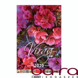 Falinaptár CSG 210x320mm álló Virág 2020.