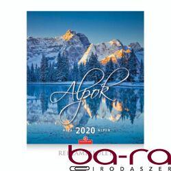 Falinaptár CSG 300x340mm álló Alpok 2020.