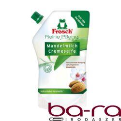 Folyékony szappan utántöltő Frosch mandulatej környezetbarát 500ml