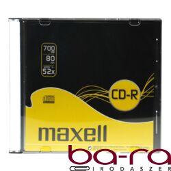 ÍRHATÓ CD MAXELL 700MB SLIM DARABOS 52X