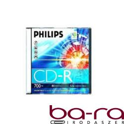 ÍRHATÓ CD PHILIPS 700MB 52X SLIM TOK