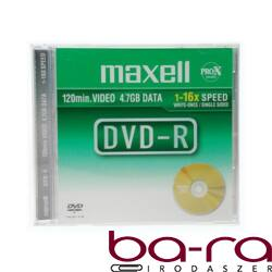 ÍRHATÓ DVD-R MAXELL 4,7GB NORMAL TOK