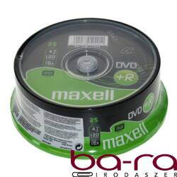 ÍRHATÓ DVD+R MAXELL 4,7GB 25DB/HENGER