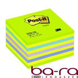 Öntapadós jegyzet Post-it LP 2028NB 76x76 450 lapos lollipop zöld