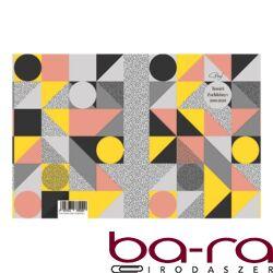 Tanári zsebkönyv TOPTIMER Prof papírborító A/5 heti Geometrik 2019-2020